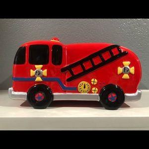 Fire Truck 🚒 coin bank